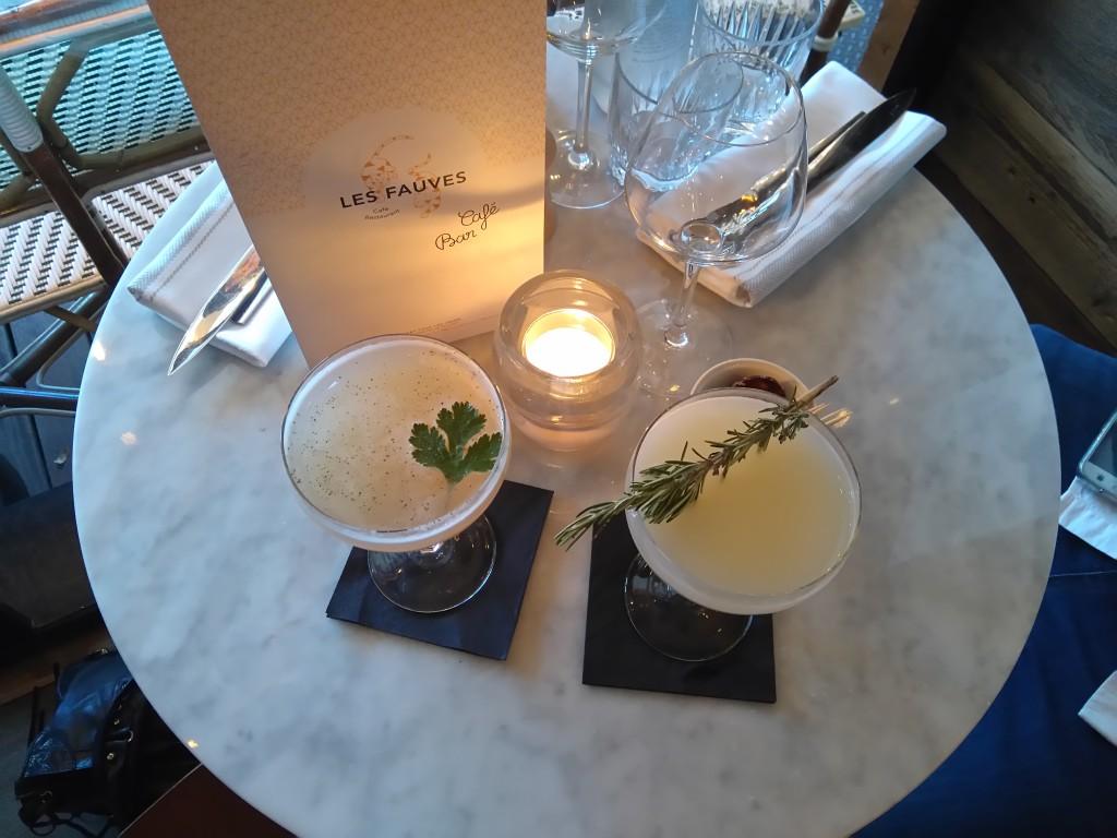 Les fauves - cocktail bar parisien