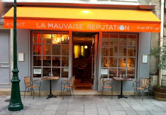 La Mauvaise Réputation – cuisine française créative – belle terrasse à Montorgueil