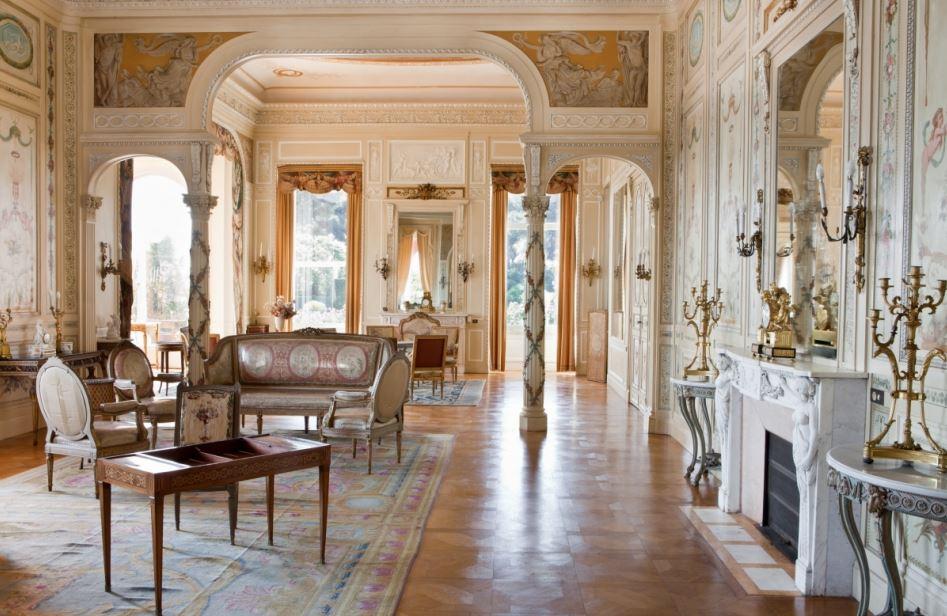 Villa Ephrussi de Rotschild - Paris Frivole - le grand salon