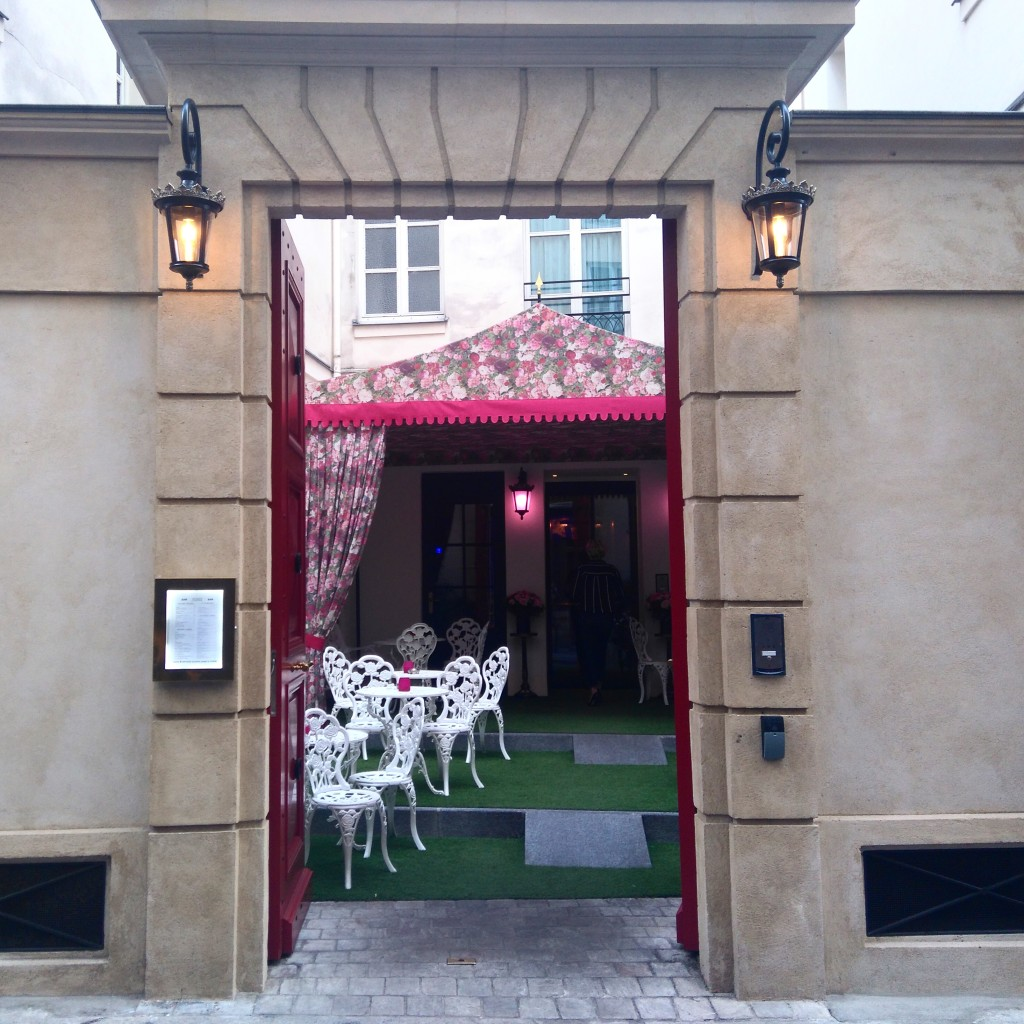 Terrasse è Hotel Jobo - Paris Frivole