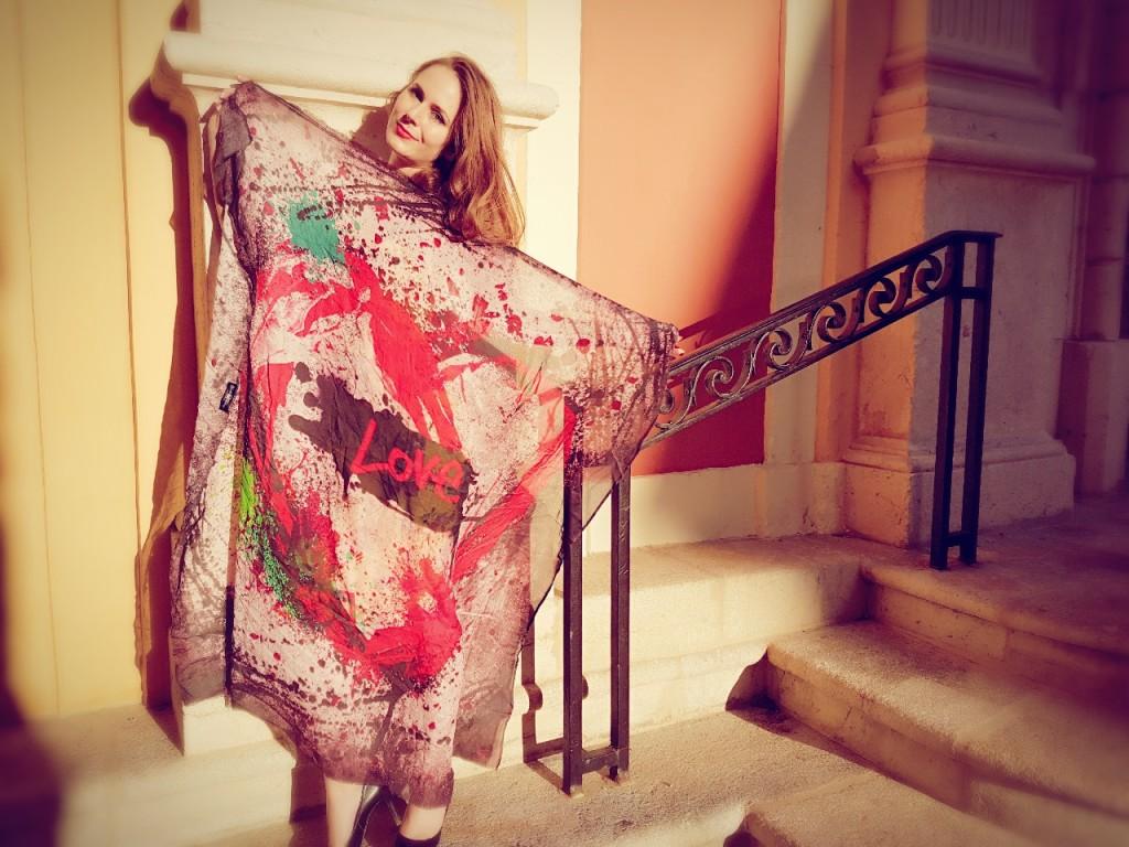 Sasha Berry - scarves - foulards en cachemire - paris frivole