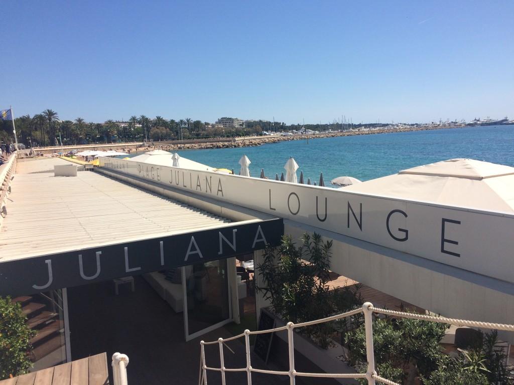 Plage restaurant Juliana - la croisette - Cannes