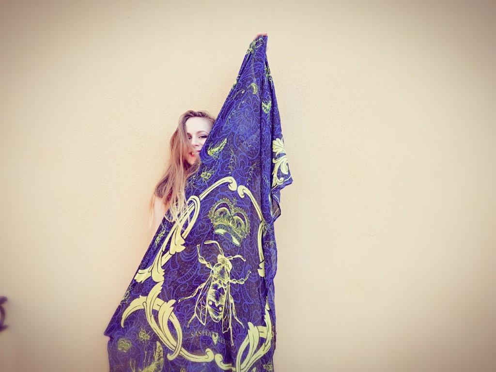 Sasha Berry - scarves - foulards