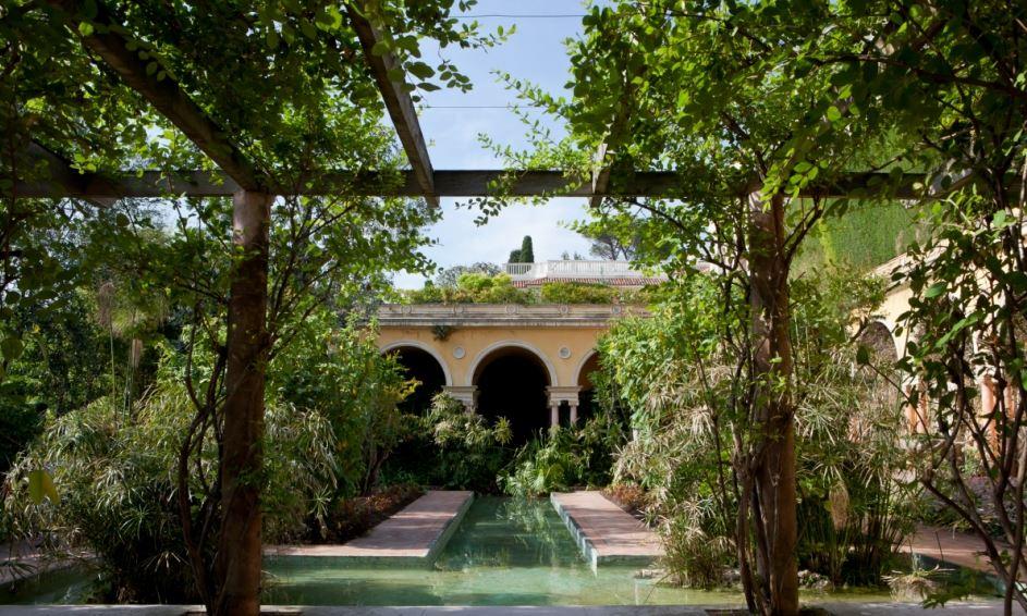 villa Ephrussi de Rotschild - jardin espagnol