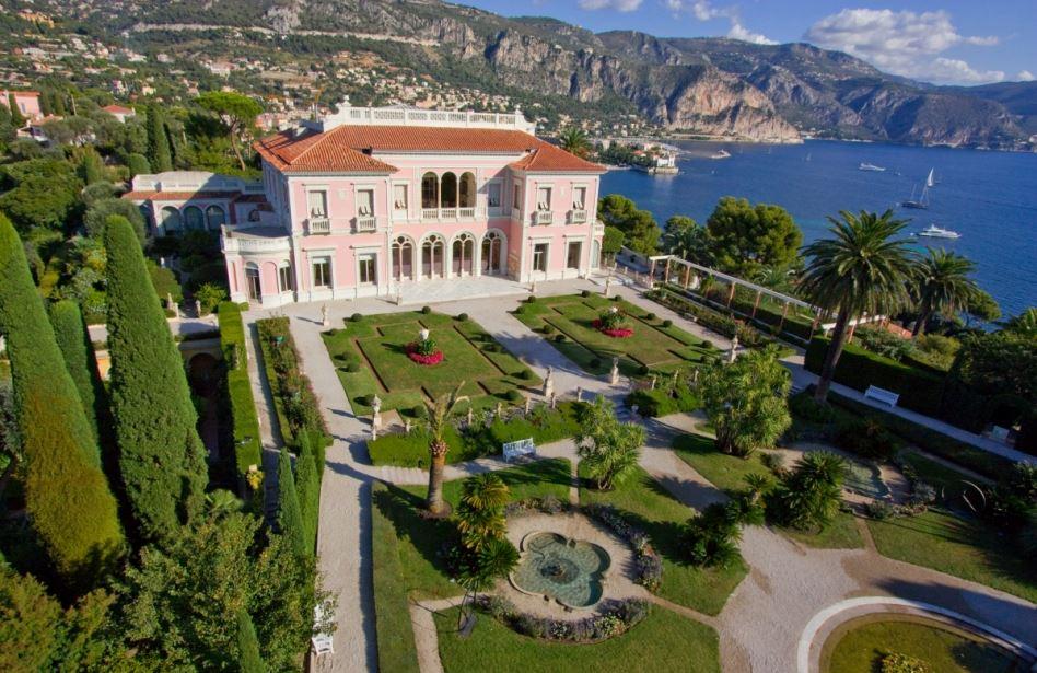 villa Ephrussi de Rotschild - paris frivole - french riviera