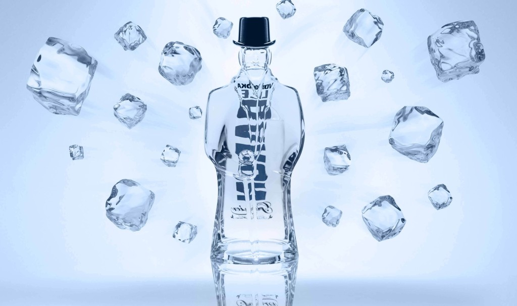 vodka - le baron garnier - paris frivole