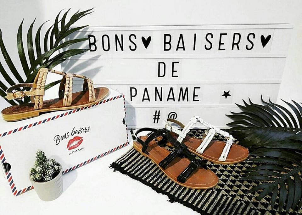 Bons Baisers de Paname - sandales en cuir - Pigalle
