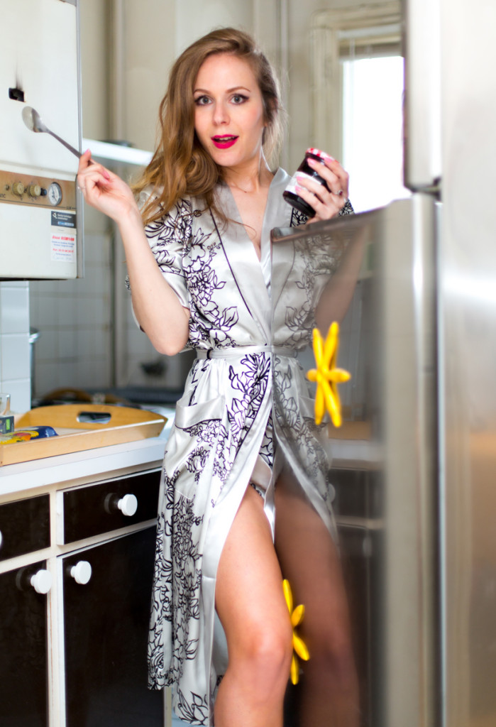 lepeignoir - shooting - pin up - blogueuse parisienne