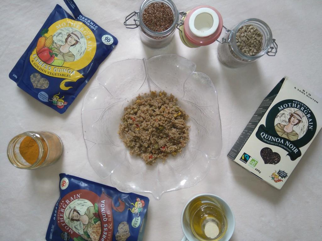 quinola mothergrain - salade de quinoa détox