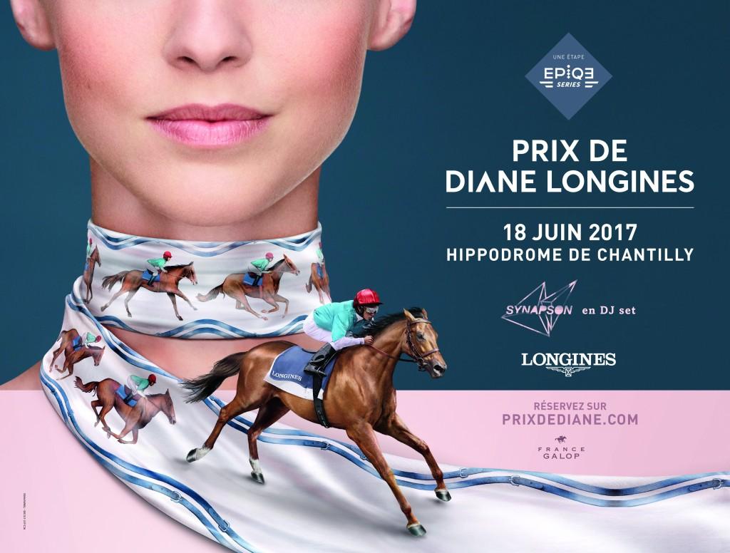 Prix de Diane Longines - hippodrome de Chantilly