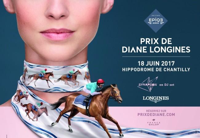 Prix de Diane Longines – Hippodrome de Chantilly – 18 juin 2017