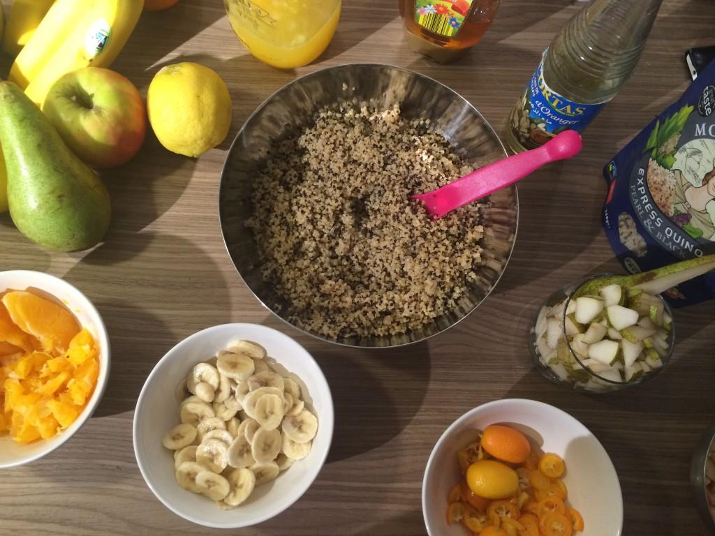 Quinola Mothergrain - recettes à base de quinoa