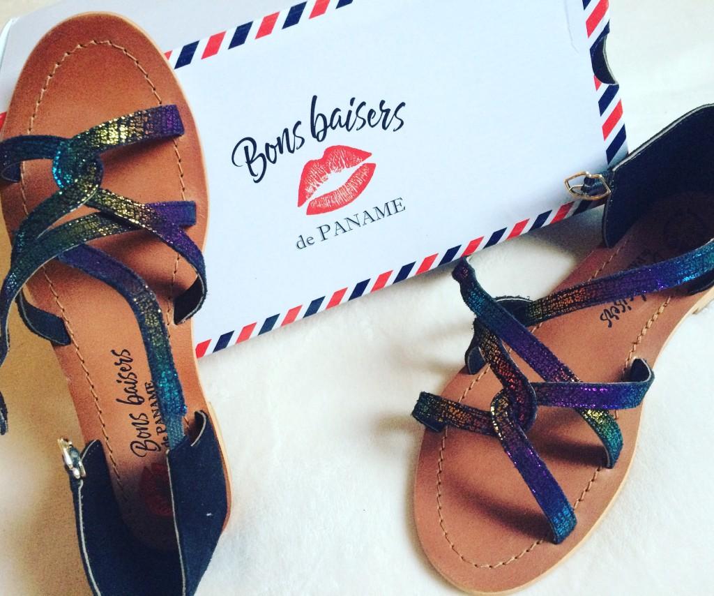 Bons Baisers de Paname - sandales - blog parisien