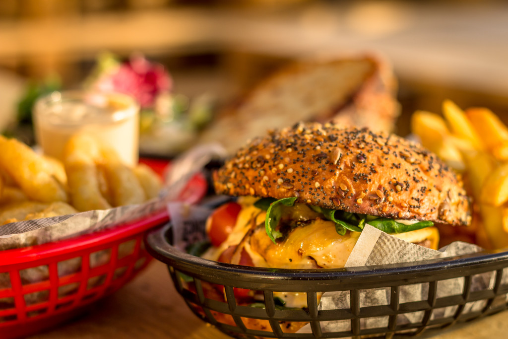 Foodtruck - papa cabane - burger gourmet