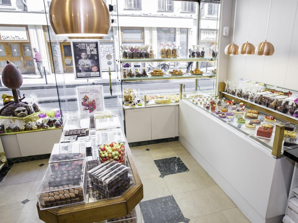 Ouverture de la Pâtisserie Chocolaterie Baisers Sucrés - Boutique Tholoniat
