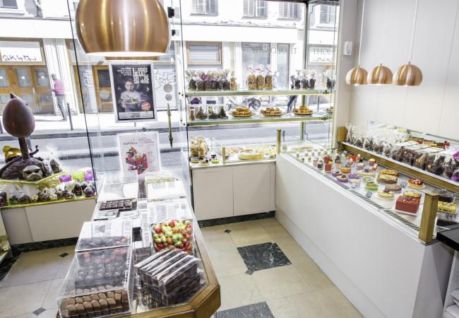 Ouverture de la Pâtisserie Chocolaterie Baisers Sucrés – Boutique Tholoniat