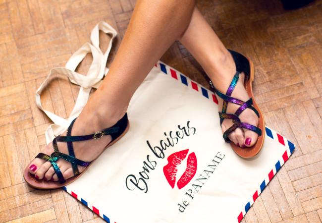 Les Sandales parisiennes – Bons Baisers de Paname