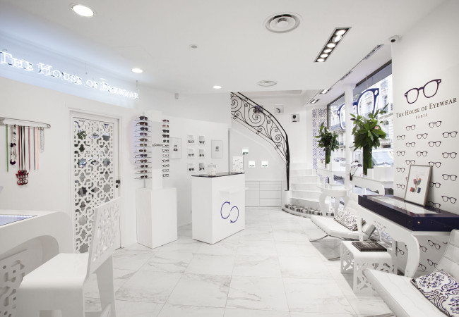 The House of Eyewear – concept store – haute lunetterie