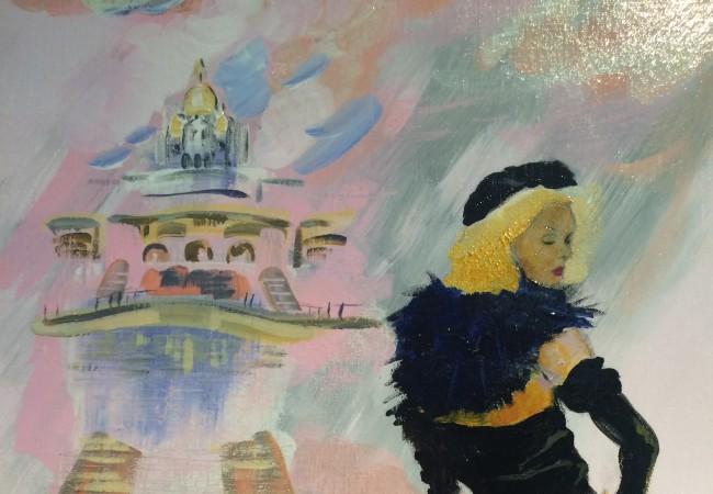 Exposition Urban Ballad – Françoise Pivin – Courtyard by Marriott Paris Boulogne