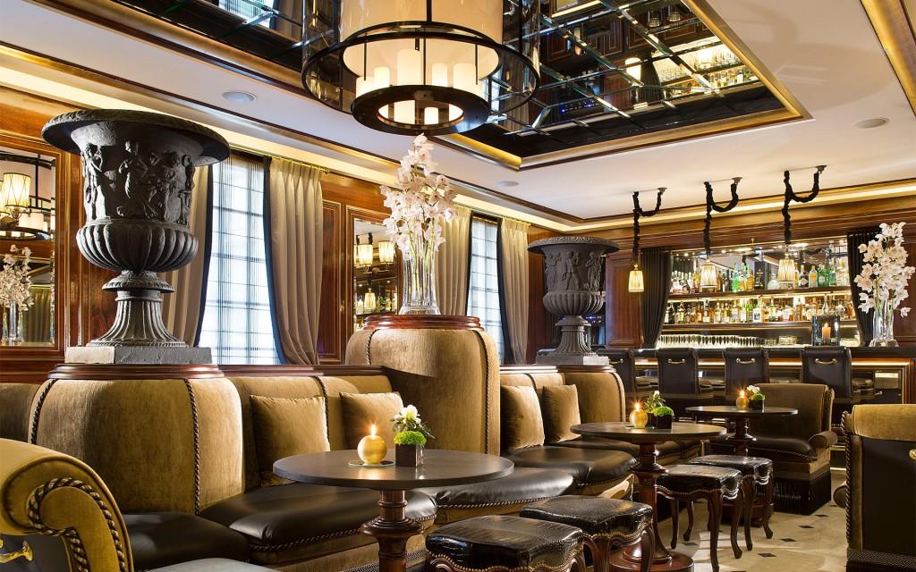 le bar de l'hôtel Belmont