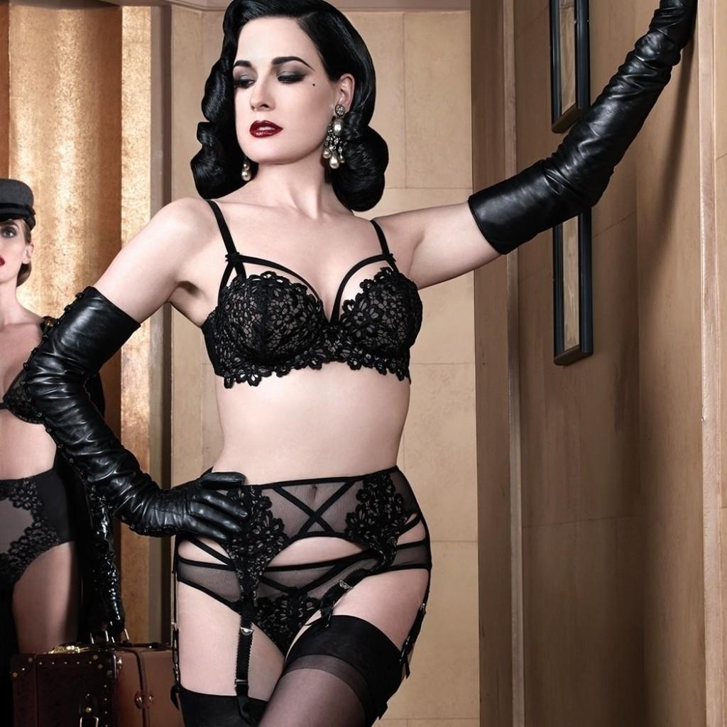 collection de lingerie Dita Von Teese