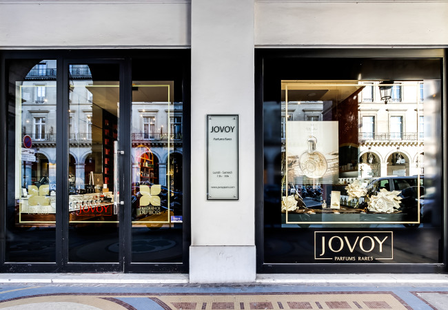 Jovoy Paris – boutique de parfums rares – écrin d'exception à Concorde