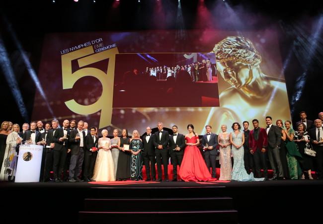 Clôture du Festival de Télévision de Monte-Carlo – le palmarès des Nymphes d'Or