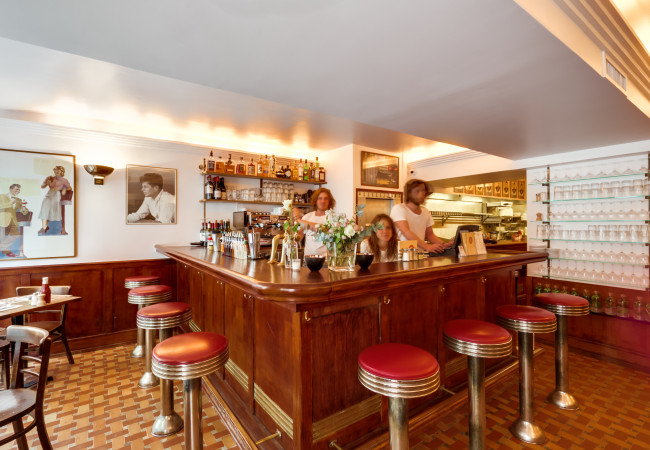 Coffee Parisien – rue Princesse – l'adresse US la plus chic de Paris