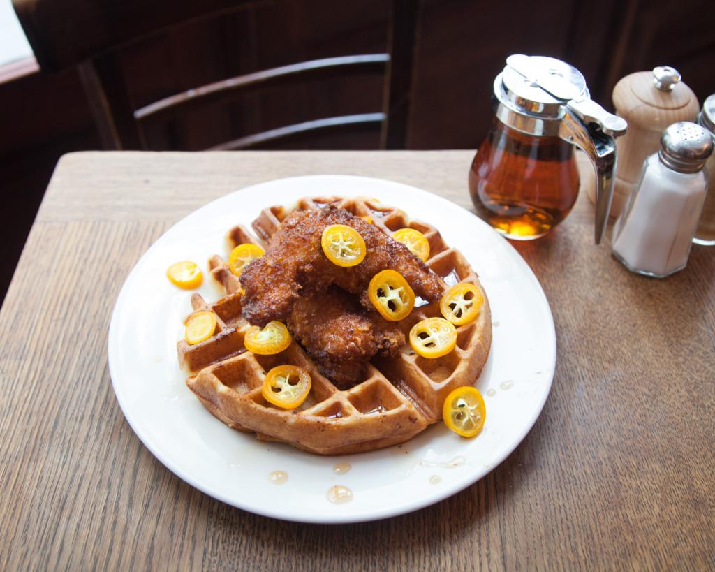 Coffee Parisien Waffles & Chicken