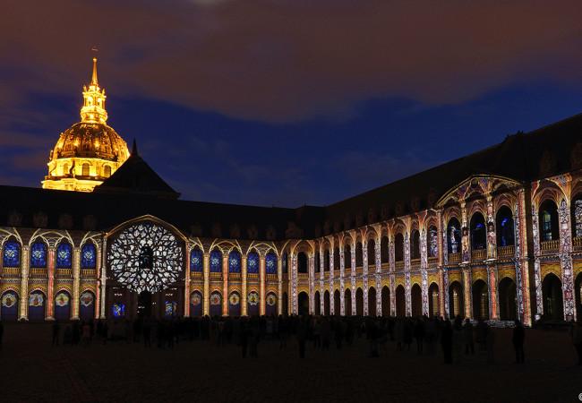 La Nuit aux Invalides – le Show Monumental de Paris