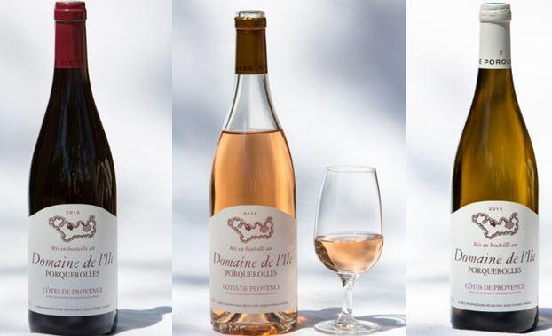 Domaine de l'ile Porquerolles - vins