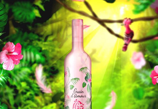 Grain d'Amour – édition collector 2017 – vin rosé des Vignerons de Brulhois