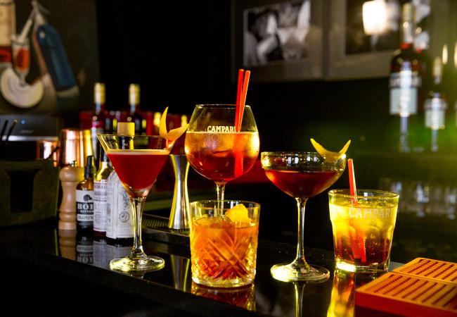 Hôtel Montana – Campari – cocktails d'amertume !