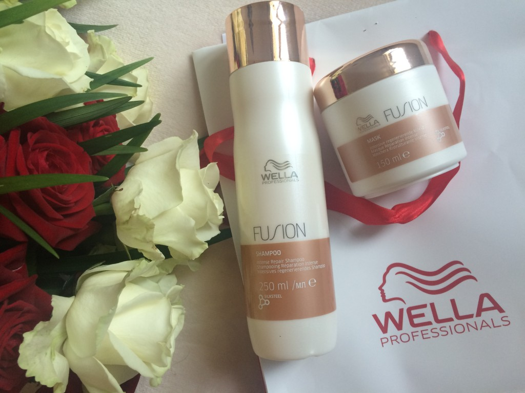 Wella professionals - gamme fusion