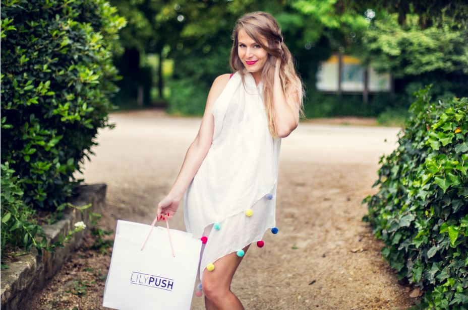Lilypush - paris frivole - accessoires pompon