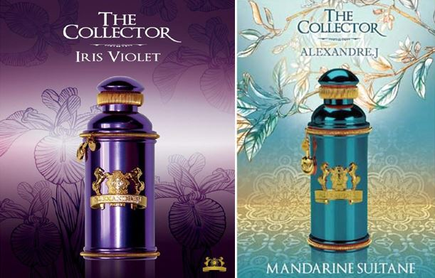 Parfums Alexandre J - Iris violet - mandarine sultane