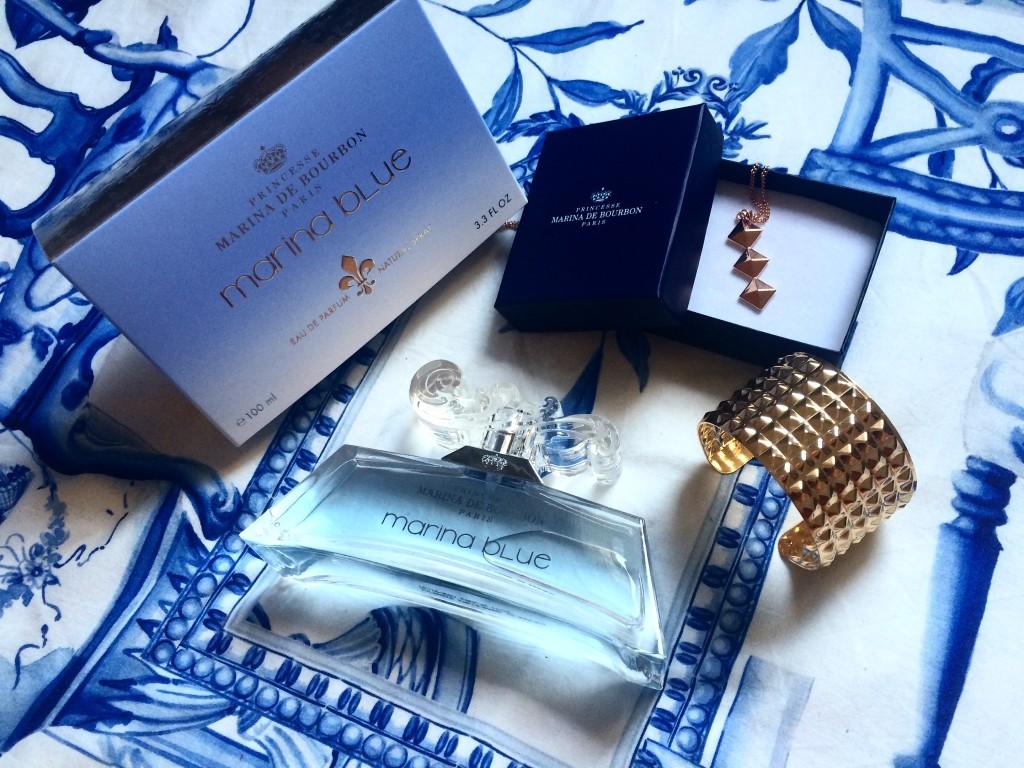 Marina Blue - parfum Princesse Marina de Bourbon