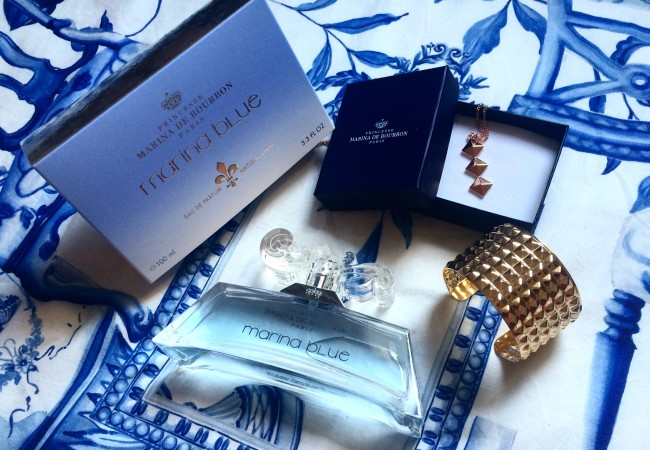 Marina Blue – parfum Princesse Marina de Bourbon