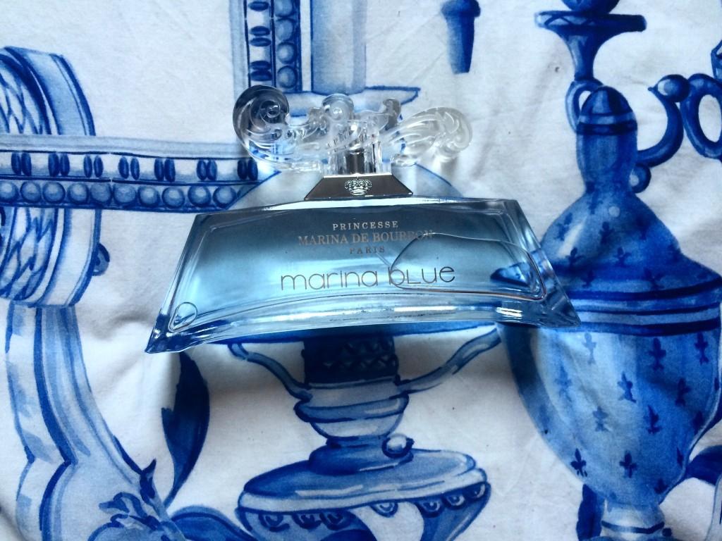 Marina Blue - Princesse Marina de Bourbon - paris frivole - parfum
