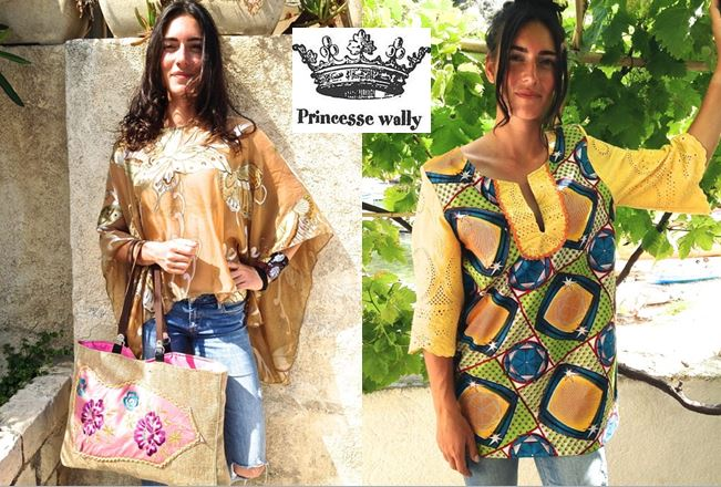 tuniques hippie chic - princesse wally