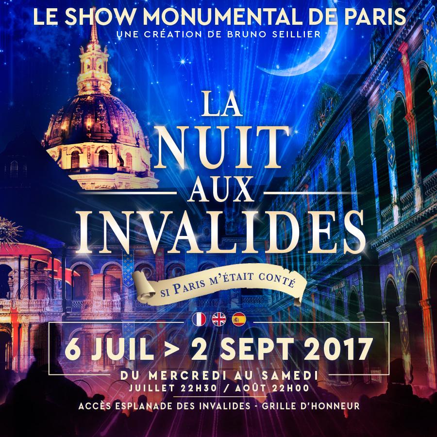 La Nuit aux Invalides - Paris Frivole