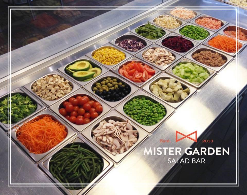Salad Bar Mister Garden