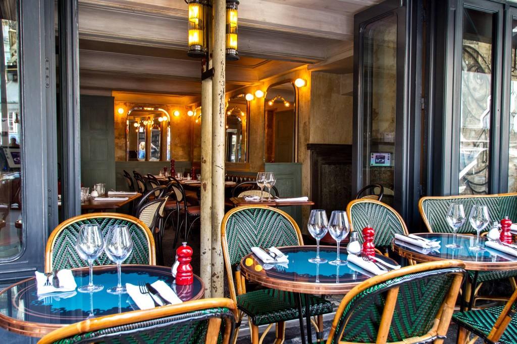 La Cave Drouot - terrasse parisienne