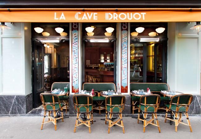 La Cave Drouot – grand bistro parisien contemporain – cuisine française