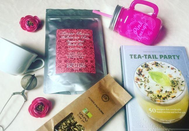 Comptoirs Richard – thé glacé – tisanes d'été et cocktail audacieux