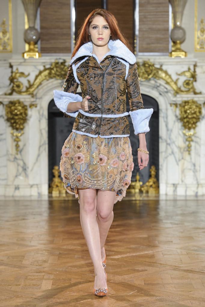 Ewa Minge - défilé - blog mode paris frivole