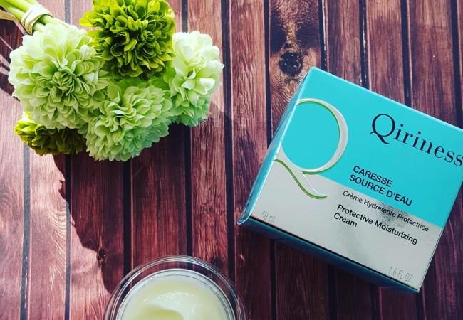 Qiriness – gamme source d'eau – wrap jambes légères et wrap hydratant