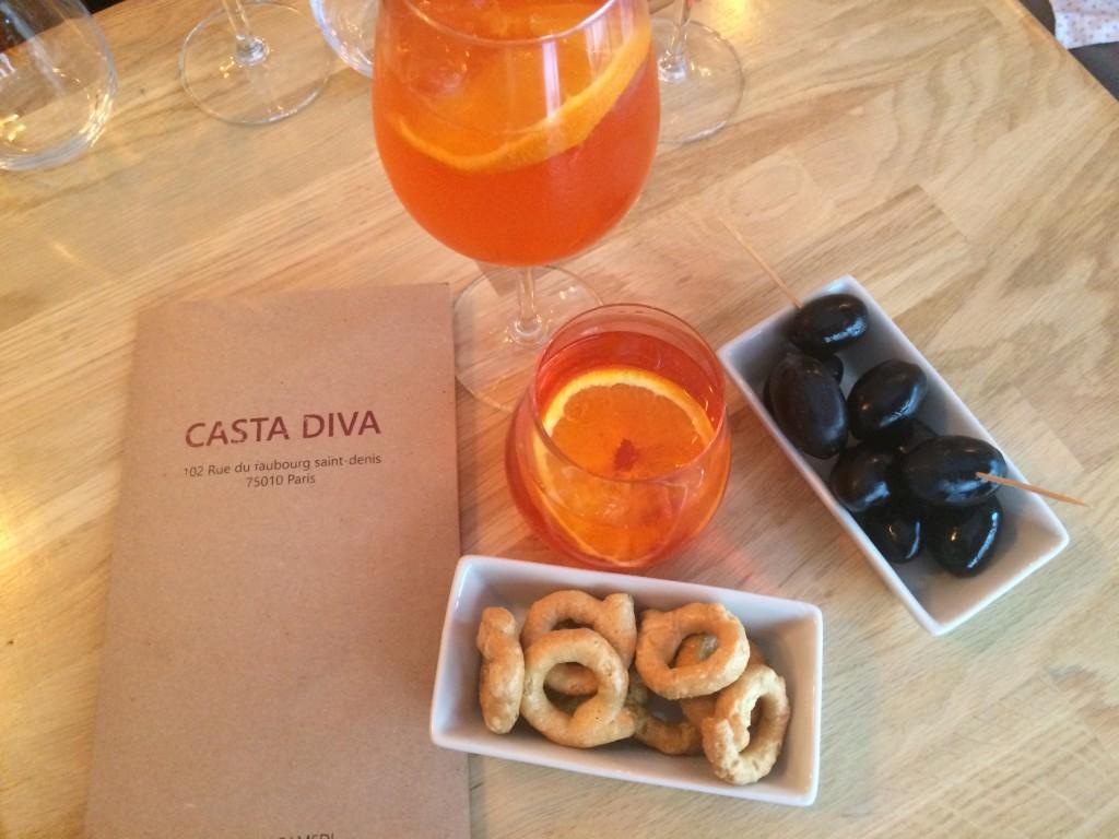 Casta Diva - apero italien à paris