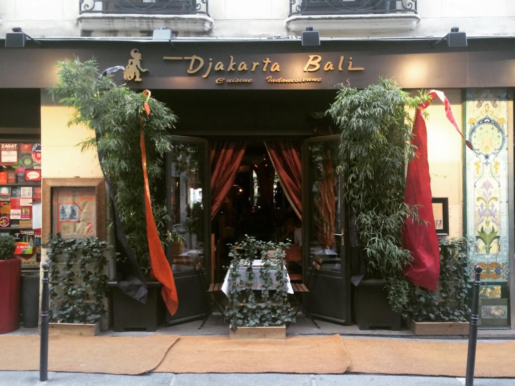 Djakarta Bali - restaurant indonésien à Paris
