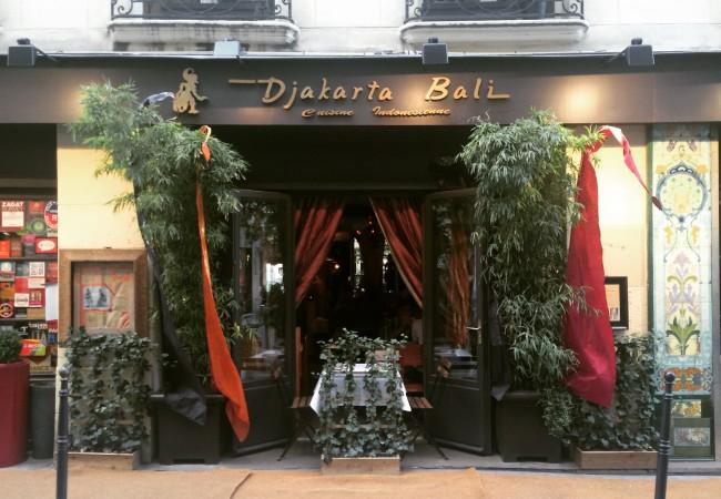 Djakarta Bali – restaurant indonésien et balinais – voyage culinaire